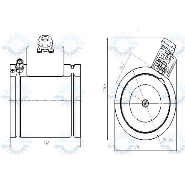 Электромагнит специальный ЭМС-11 Н0401Б.02.12.000