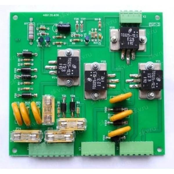 Плата управления тормозом ПУТ-3 ФАИД.469.135.036-02 администрация (управление вентилятора)